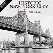 "2017 Buffalo Media Works 12"" x 12"" Historic New York City  Wall Calendar  (NYCCAL17_101594)"