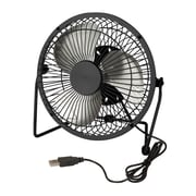Honey Can Do USB Powered Desk Fan, Black (OFC-04476)