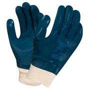 Ansell – Gants complètement enduits de nitrile, poignets en tricot, travaux lourds, taille 10, 12 paires (SAY784)