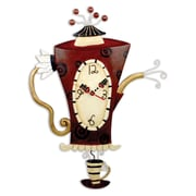 Allen Designs ADC652 Steamin' Tea Clock