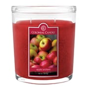 Colonial Candle 22 oz. Oval Jars, 2/Pack