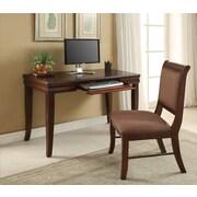 A&J Homes Studio Jupiter Computer Desk and Chair Set
