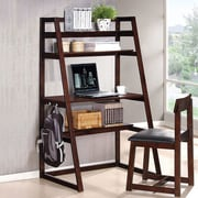 A&J Homes Studio 2 Piece Ladder Desk with Chair Set
