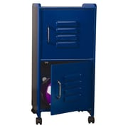 KidKraft 2 Tier 1 Wide Locker; Blue