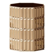 NU Steel Glitz Wastebasket; Gold