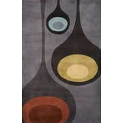 Momeni New Wave Steel Area Rug; 7'6'' x 9'6''