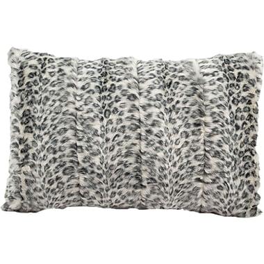 Nourison Fur Lumbar Pillow
