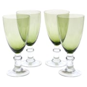 Certified International Glass Stemware 18 Oz. Stemmed Water Glass (Set of 4)