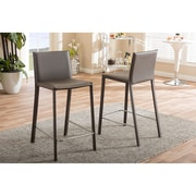 Wholesale Interiors Baxton Studio 25.35'' Bar Stool (Set of 2)