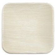 Leaf & Fiber 6'' Compostable and Sustainable Fallen Palm Leaf Appetizer Plate (Set of 10)