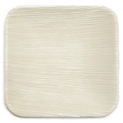 Leaf & Fiber 6'' Eco Fallen Palm Leaf Appetizer Plate (Set of 100)