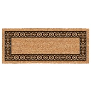 US Cocoa Mat DeCoir Charleston Border Double Door Doormat; 24'' W x 60'' L