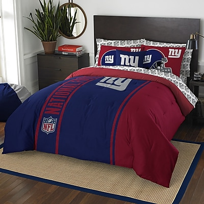 Northwest Co. NFL New York Giants Comforter Set; Full WYF078279085499