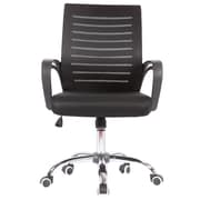 Porthos Home Rindy High-Back Task Chair; Black