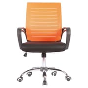 Porthos Home Rindy High-Back Task Chair; Orange