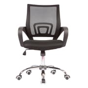 Porthos Home Blake High-Back Task Chair; Black