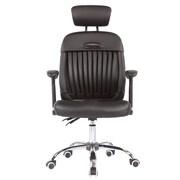 Porthos Home Regina High-Back Conference Chair; Black