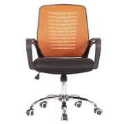 Porthos Home Micha High-Back Task Chair; Orange