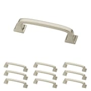 "Franklin Brass Satin Nickel 3"" Lombard Kitchen or Cabinet Hardware Drawer Handle Pull, 10 Pack (P29521K-SN-B)"