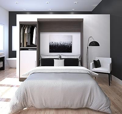 Collection pour chambre à coucher Nebula by Bestar, gris écorce
