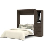 """Nebula by Bestar 90"""" Queen Wall Bed Kit, Antigua, (25882-52)"""