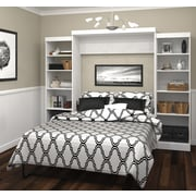 """Pur by Bestar 115"""" Queen Wall Bed Kit, White, (26883-17)"""
