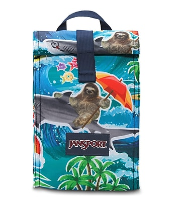 Jansport Roll Top Lunch Bag Wet Sloth 2UQ20L2