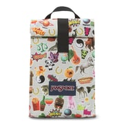 Jansport Roll Top Lunch Bag, Multi Sticker (2UQ20KN)