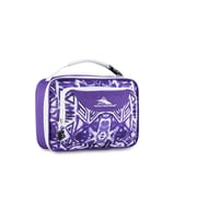 High Sierra Single Compartment Lunch Bag, Purple Shibori Geometric Print (74715-4981)
