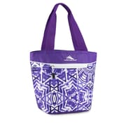 High Sierra Lunch Tote, Purple Shibori Geometric Print (74711-4981)