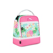 High Sierra Stacked Compartment Lunch Bag, Pineapple Party (74714-5204)