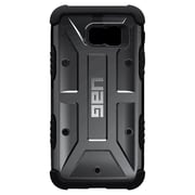 Urban Armor Gear® Cell Phone Case with Screen Protector for Samsung Galaxy S6, Ash (UAG-GLXS6-ASH-W/SCRN)