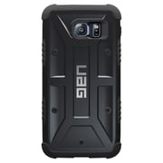 Urban Armor Gear® Cell Phone Case with Screen Protector for Samsung Galaxy S6, Black (UAG-GLXS6-BLK-W/SCRN)