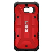 Urban Armor Gear® Cell Phone Case with Screen Protector for Samsung Galaxy S6, Magma (UAG-GLXS6-MGM)
