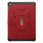 Urban Armor Gear® UAG-IPDAIR2 Rubberized Folio Tablet Case for Apple iPad Air 2, Magma