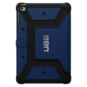 Urban Armor Gear® UAG-IPDM4 Rubberized Folio Tablet Case for Apple iPad mini 4, Cobalt