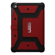 Urban Armor Gear® UAG-IPDM4 Rubberized Folio Tablet Case for Apple iPad mini 4, Magma