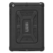 Urban Armor Gear® UAG-IPDAIR Rubberized Folio Tablet Case for Apple iPad Air, Black
