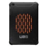 Urban Armor Gear® UAG-IPDMF Rubberized Folio Tablet Case for Apple iPad mini 1/2/3, Black