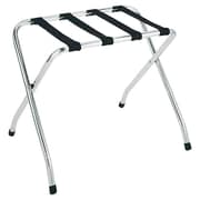 Whitmor, Inc Deluxe Straight Leg Luggage Rack in Chrome
