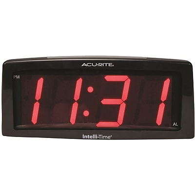 Chaney AcuRite LED SNF Alarm Clock