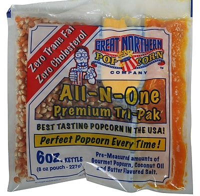 Great Northern Popcorn Popcorn Portion Pack (Set of 24); 6 oz. WYF078275672727