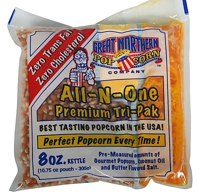 Great Northern Popcorn Popcorn Portion Pack (Set of 24); 8 oz. WYF078275672728