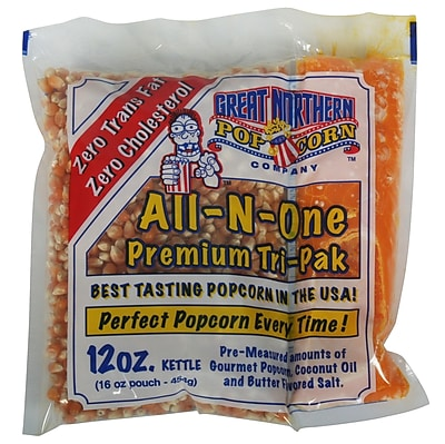 Great Northern Popcorn Popcorn Portion Pack (Set of 24); 12 oz. WYF078275673047