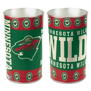 Wincraft NHL Wastebasket; Minnesota Wild