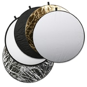 Square Perfect 5- in- 1 Light Multi Collapsible Photo Disc Reflector