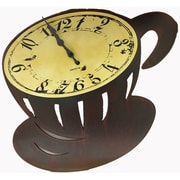 Creative Motion Coffee Cup Wall Clock