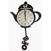 Creative Motion Tea Kettle Wall Clock