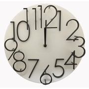 Creative Motion 12'' Raised Number Wall Clock