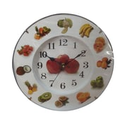 Creative Motion 11.81'' Various Fruits Around Wall Clock